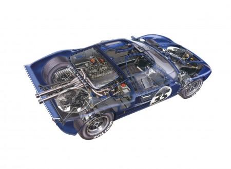 1965 Ford GT40 450x330 - Ford GT40 Cutaway