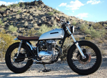 Honda CB360 CL360 450x330 - Honda CL360 by Innovative Motosports
