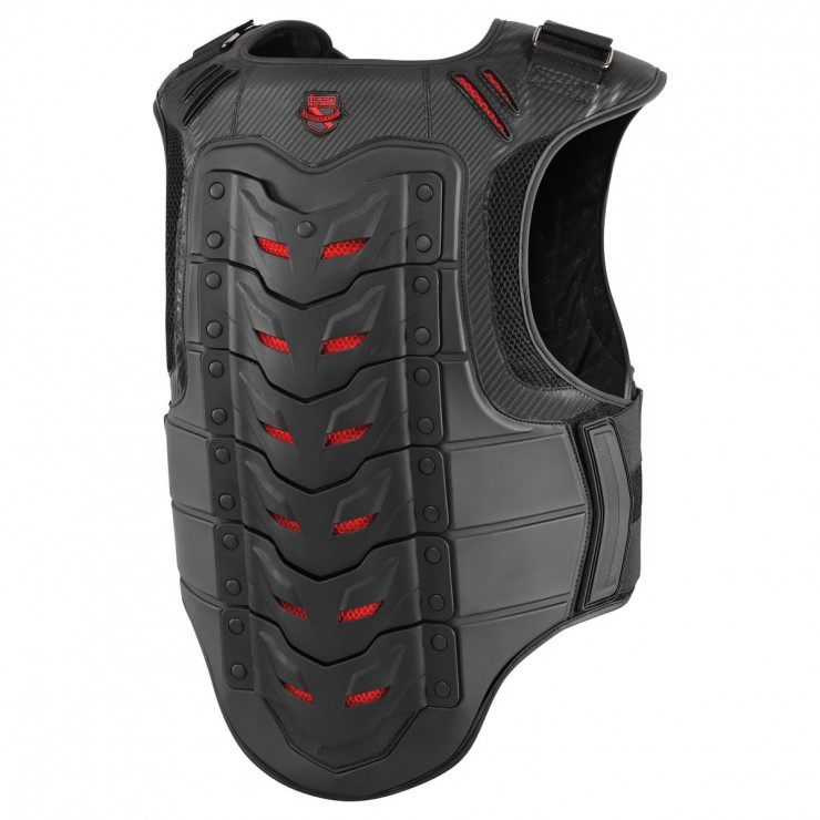 Icon Field Armor Stryker Vest Red Back