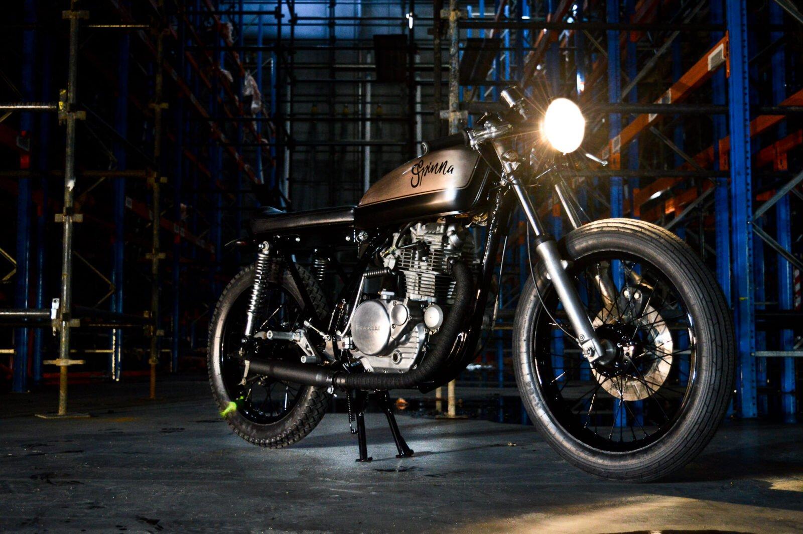 Kawasaki KZ200 6 1600x1064 - Kawasaki KZ200 by Gasoline Motor Co.