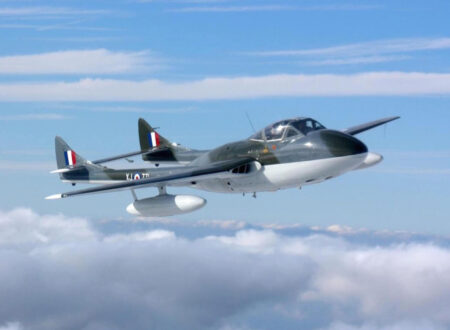 de Havilland Vampire T55 2 450x330 - de Havilland Vampire Jet