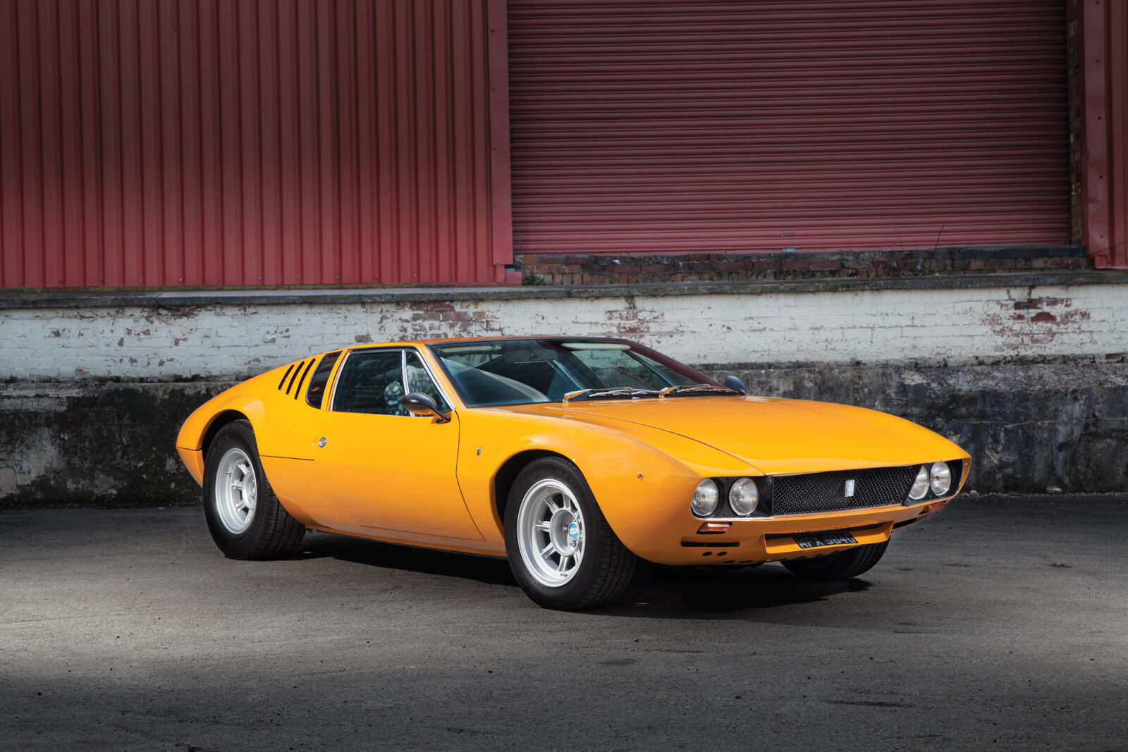An Original 1969 De Tomaso Mangusta