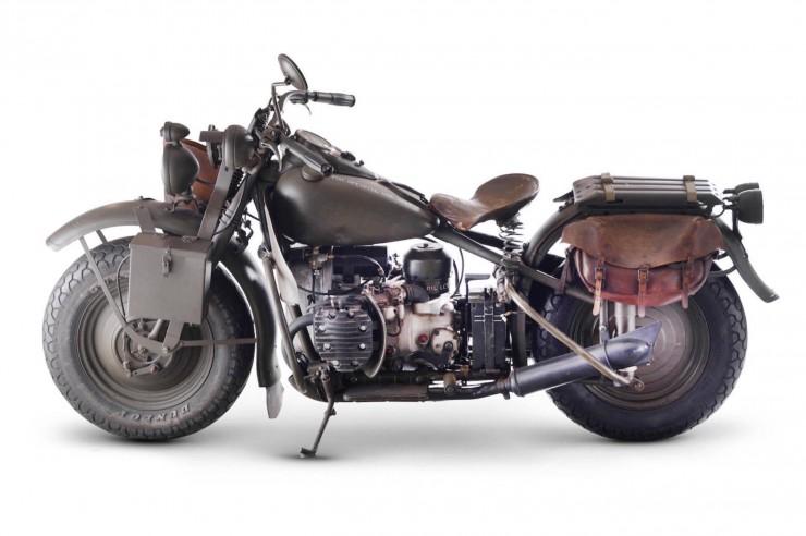 Harley-Davidson 750cc XA Military Motorcycle 1