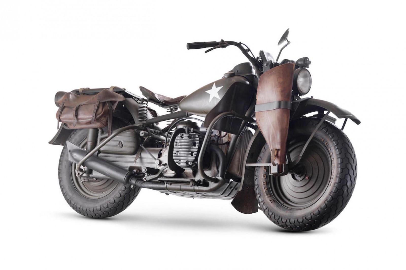 Harley Davidson 750cc XA Military Motorcycle 2 1600x1065 - Harley-Davidson XA Military Motorcycle