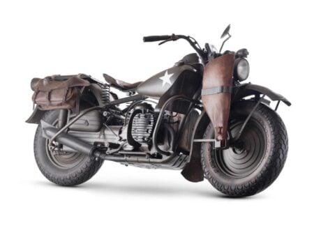 Harley Davidson 750cc XA Military Motorcycle 2 450x330 - Harley-Davidson XA Military Motorcycle
