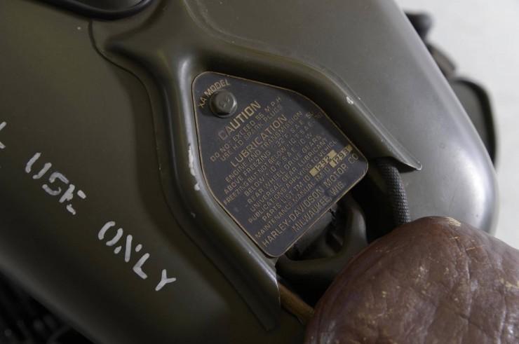 Harley-Davidson 750cc XA Military Motorcycle 4
