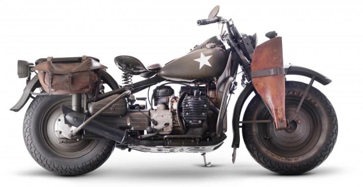 Harley-Davidson 750cc XA Military Motorcycle