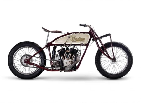 "Indian Scout Motorcycle 450x330 - 1927 Indian Scout ""Wall of Death"" Racer"
