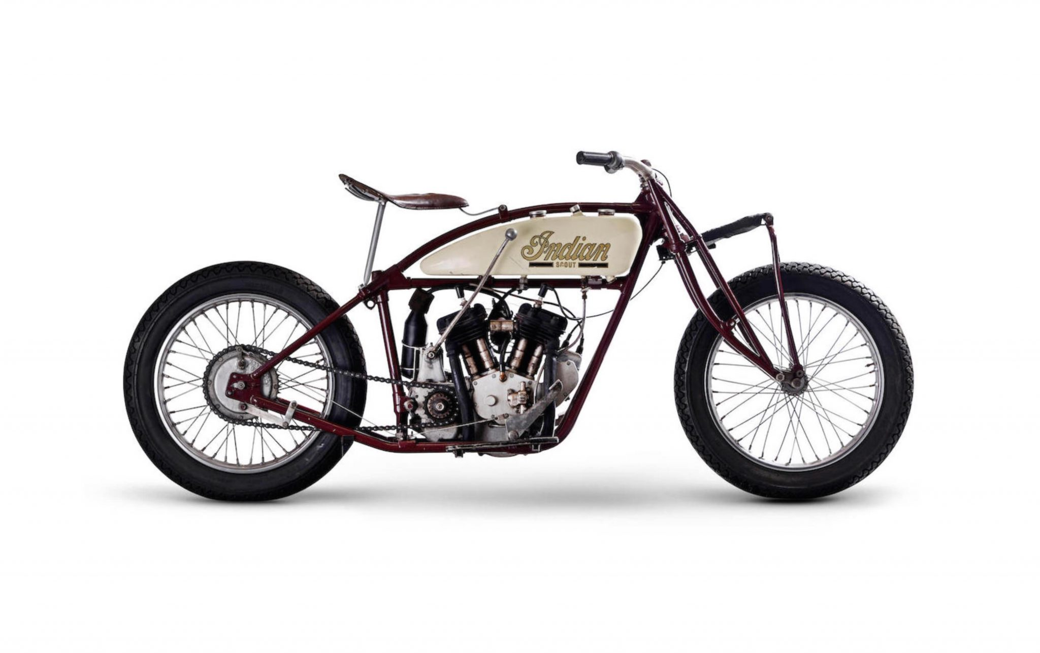 1927 Indian Scout Quot Wall Of Death Quot Racer