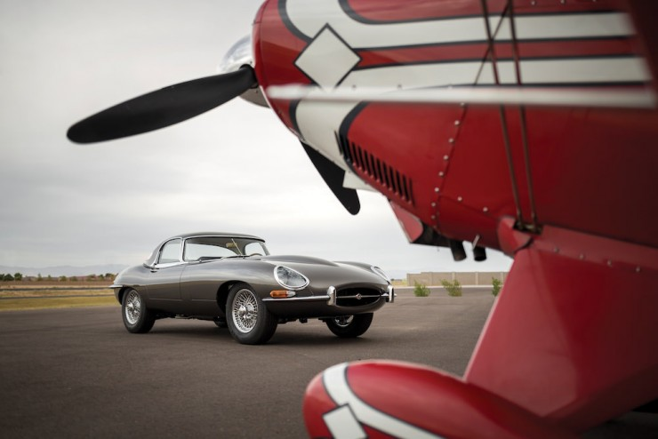 Jaguar E-Type Series 1 14