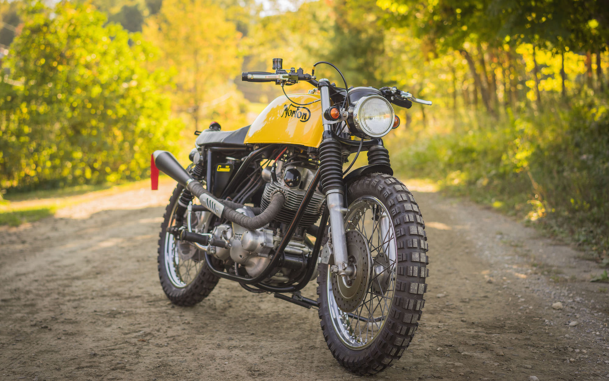Norton Commando Scrambler