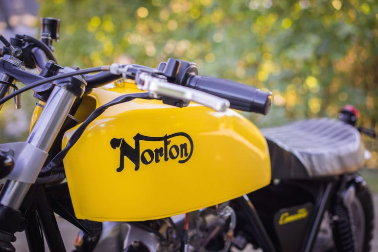 Norton Commando Motorcycle 12
