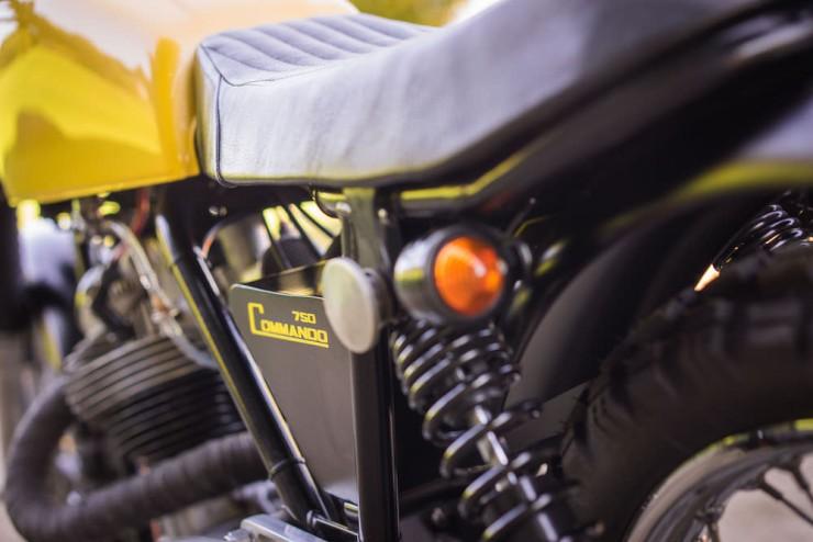 Norton Commando Motorcycle 13