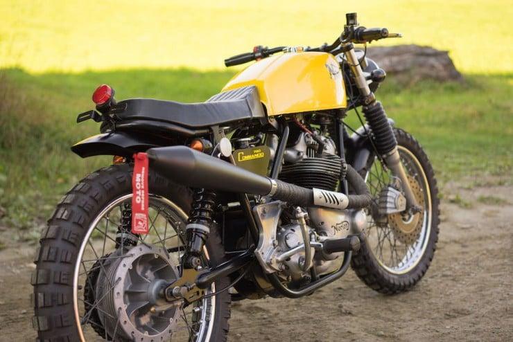 Norton Commando Motorcycle 14