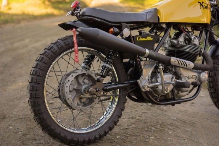 Norton Commando Motorcycle 16