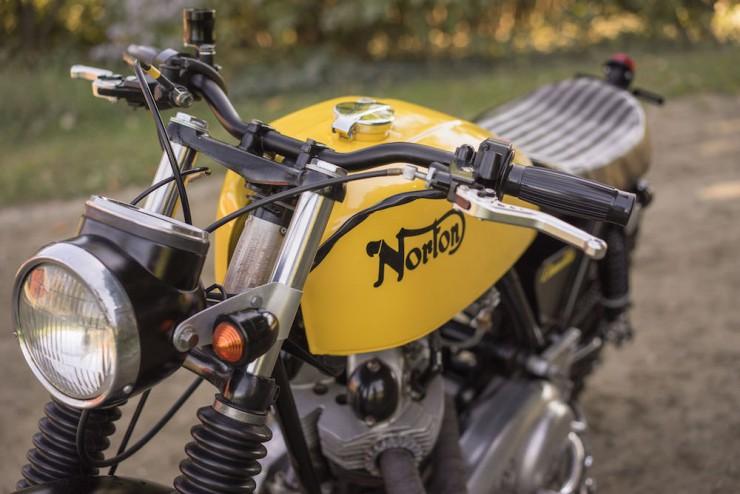 Norton Commando Motorcycle 8