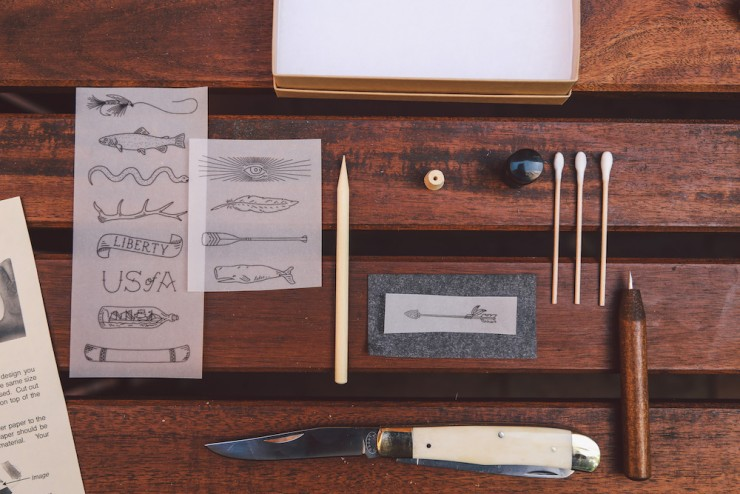 Scrimshaw Knife Kits