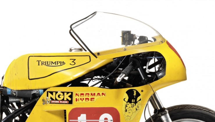 Triumph Racing Motorcycle 1