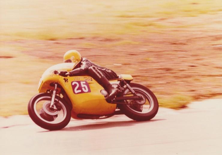Triumph Racing Motorcycle 10