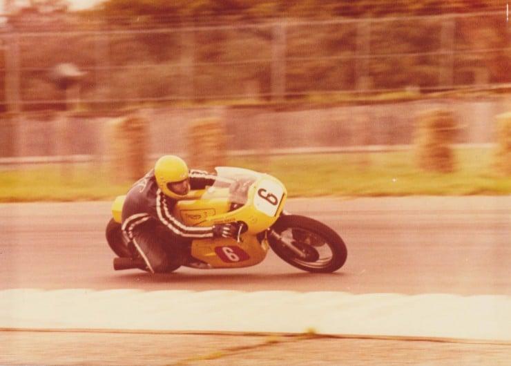 Triumph Racing Motorcycle 12