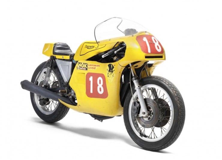 Triumph Racing Motorcycle 2