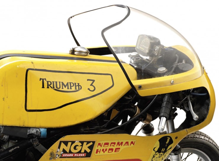 Triumph Racing Motorcycle 3