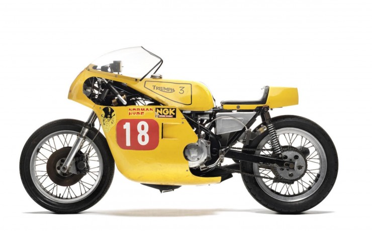 Triumph Racing Motorcycle 5