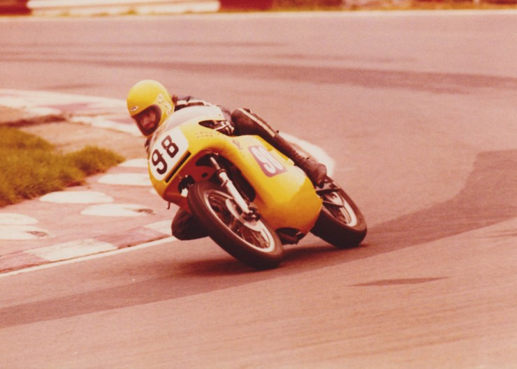 Triumph Racing Motorcycle 7