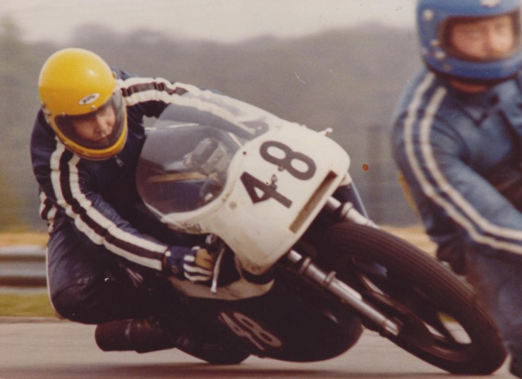 Triumph Racing Motorcycle 8