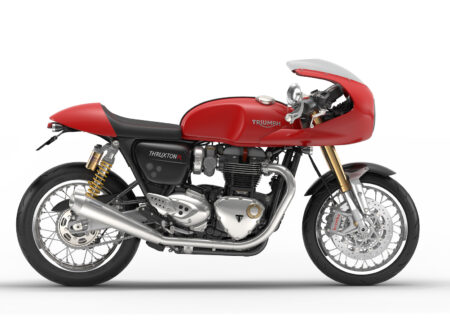 Triumph Thruxton R 450x330 - The New Triumph Thruxton R