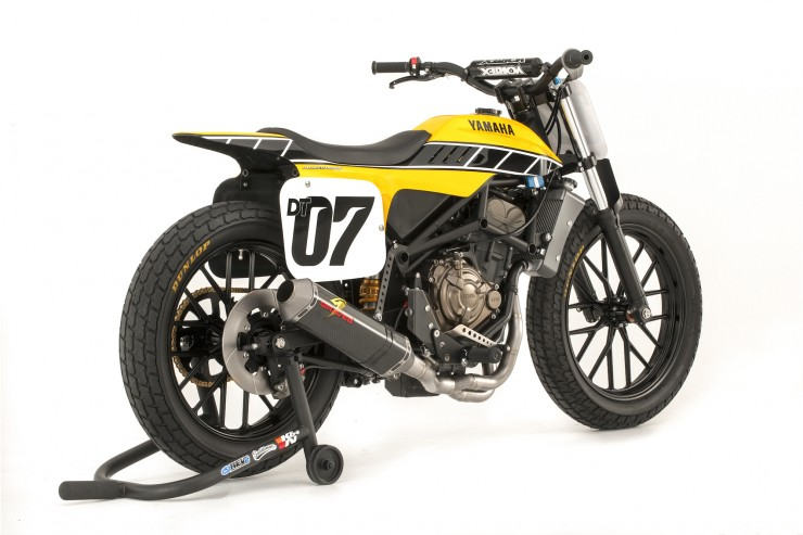 Yamaha DT-07 Flat Track Concept 3
