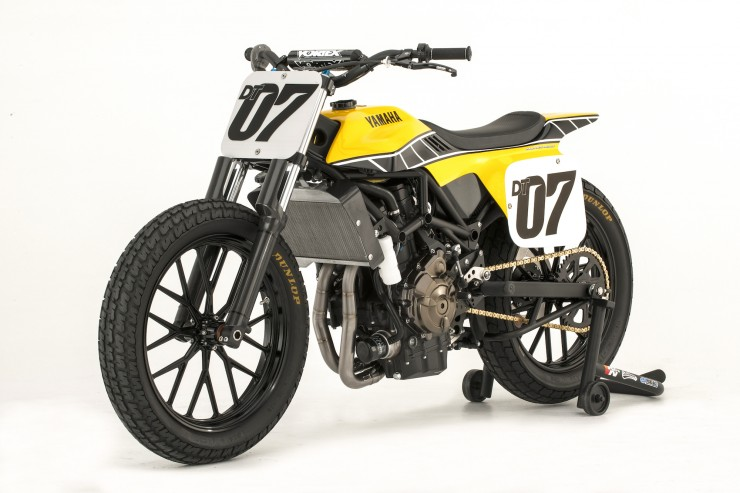 Yamaha DT-07 Flat Track Concept 4