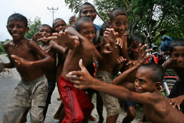 13. The kids of East Timor