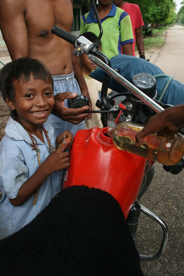16. The fuel stops of East Timor
