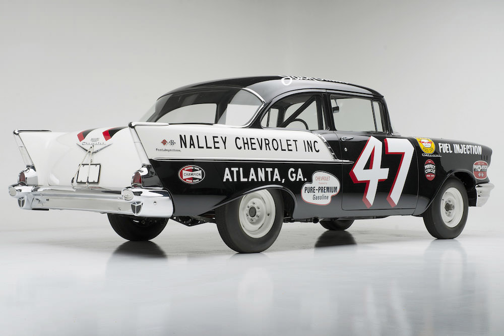 "1957 Chevrolet ""Black Widow"" Racer"