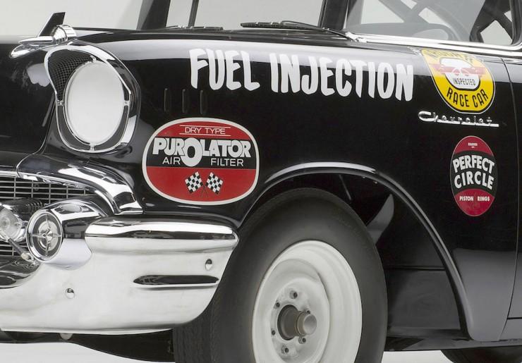 1957 Chevrolet Black Widow 6