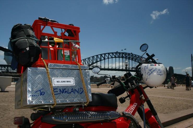2. Day One, saying goodbye to Sydney, Australia