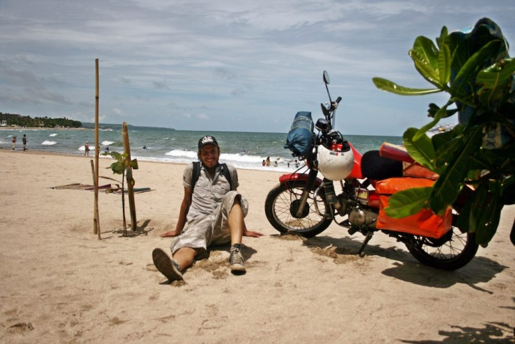 21. Taking a breather, Bali beach
