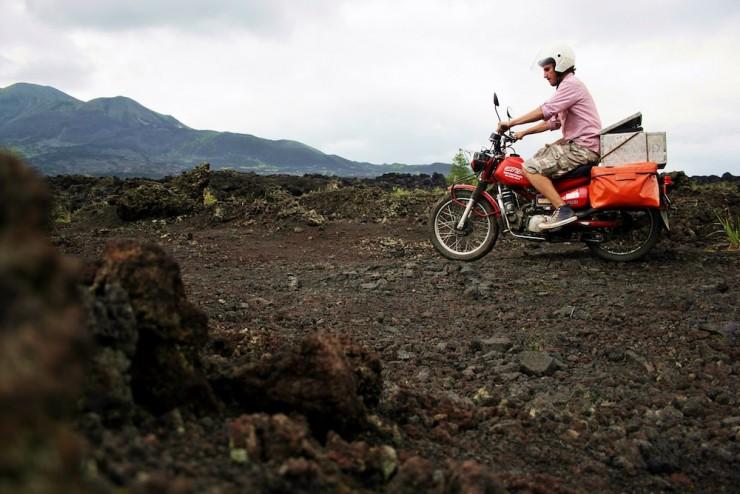 22. Riding the Bali Volcano