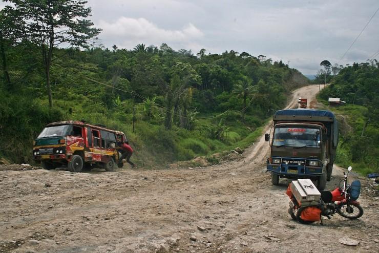 28. Main road Sumatra