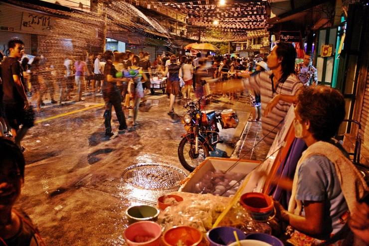 33. Celebrating Songkran, Bangkok, Thailand