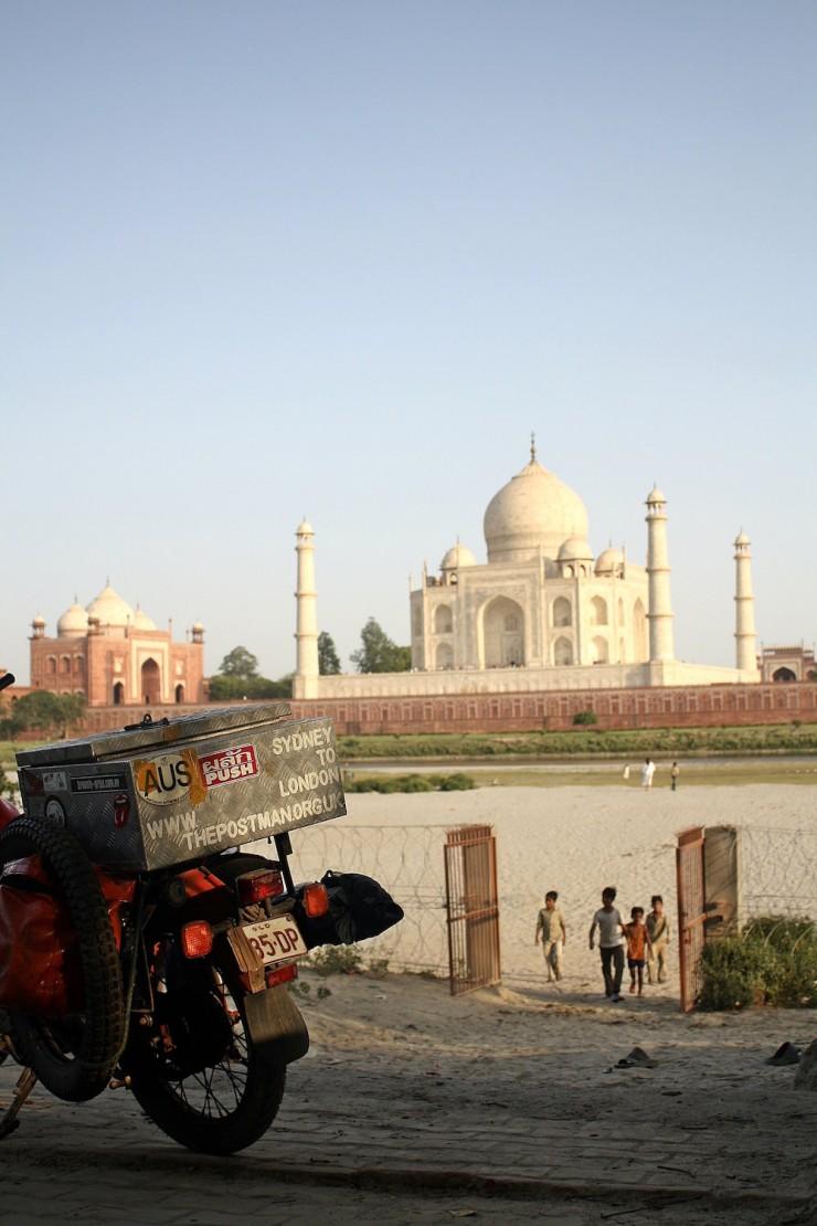 44. Visiting the Taj Mahal, Agra, India