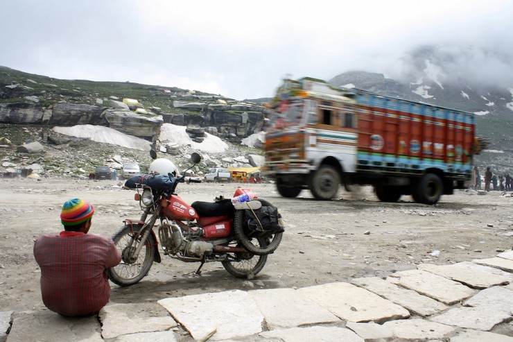 49. Top of Rohtang La, Manali to Leh Highway, India