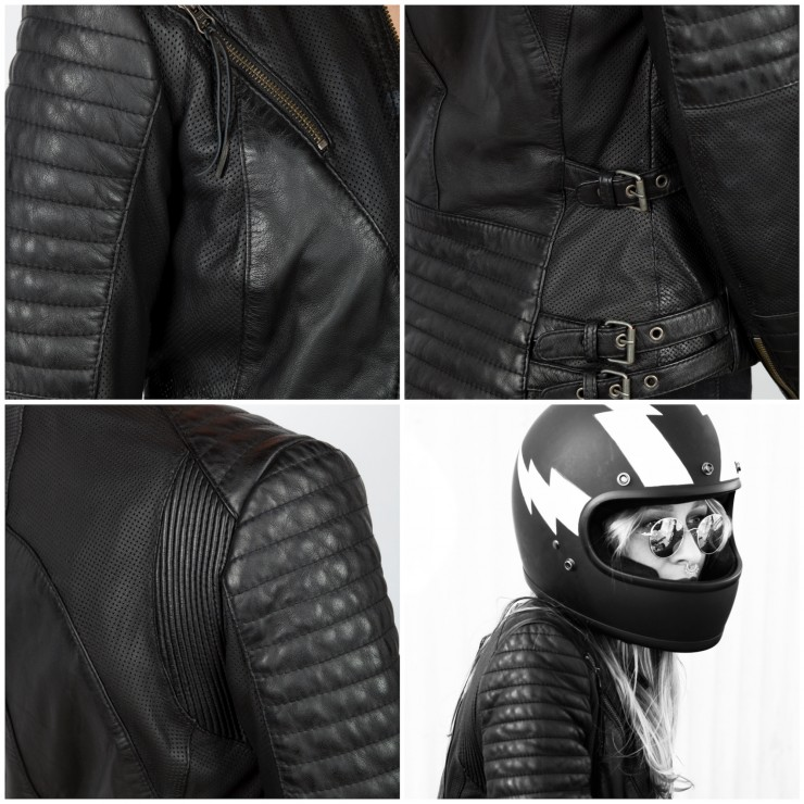 Black Arrow Wild & Free Motorcycle Jacket 1
