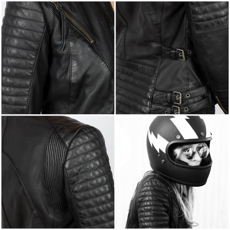 Black Arrow Wild & Free Motorcycle Jacket 1