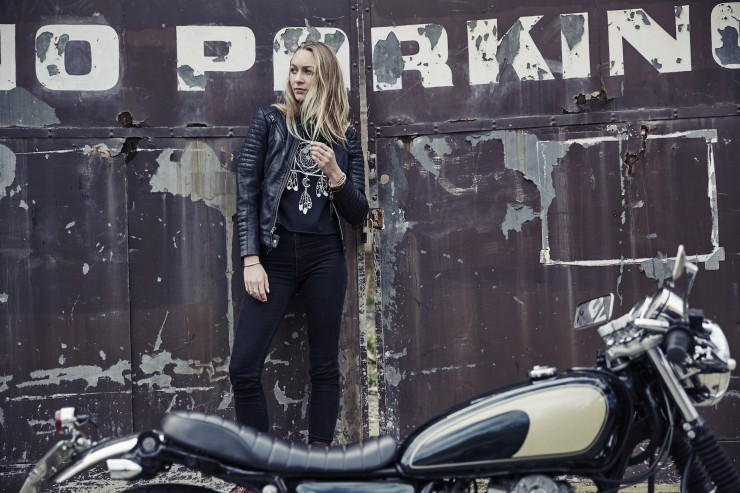 Black Arrow Wild & Free Motorcycle Jacket 2