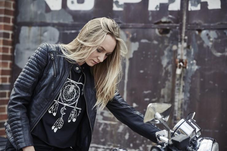 Black Arrow Wild & Free Motorcycle Jacket 4