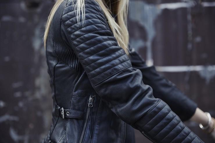 Black Arrow Wild & Free Motorcycle Jacket 5