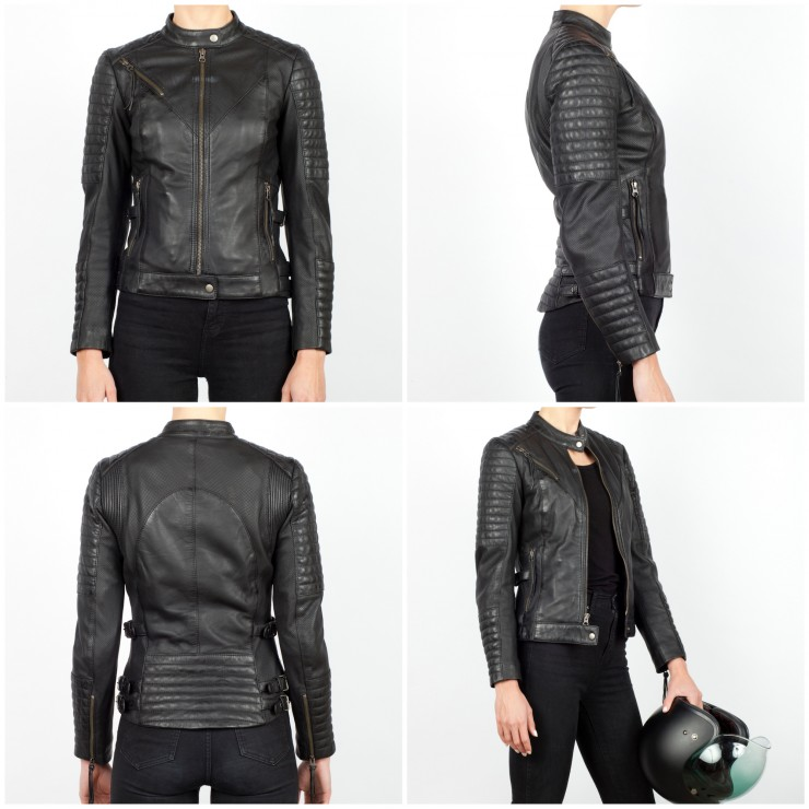 Black Arrow Wild & Free Motorcycle Jacket