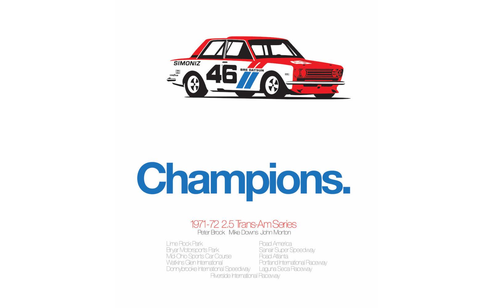 Datsun 510 Poster 1600x1000 - Datsun 510 Print
